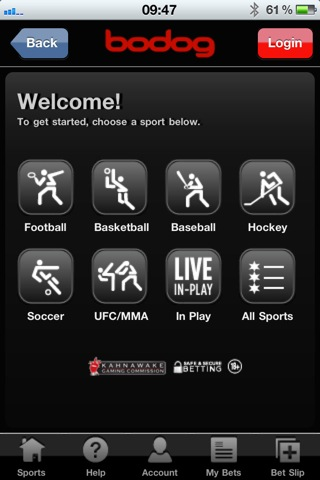 android sports betting bonus