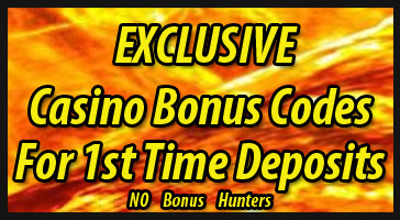 current casino bonus codes